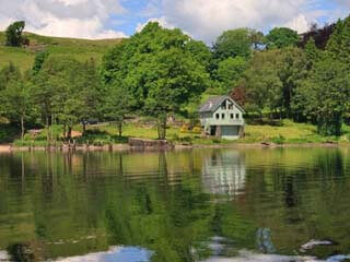 self-catering holiday cottage on Loch Awe