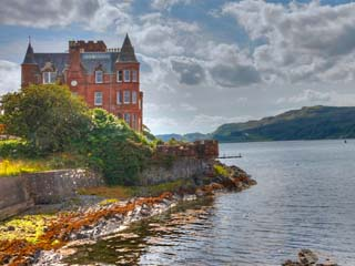 The Turret, Flat F, Kilbowie House, Gallanach Road, Oban