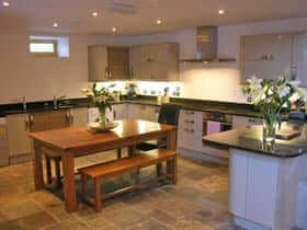 Large holiday house scotland ormidale mill house for Luxury kitchens scotland