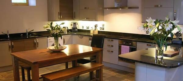 luxury selfcatering kitchen