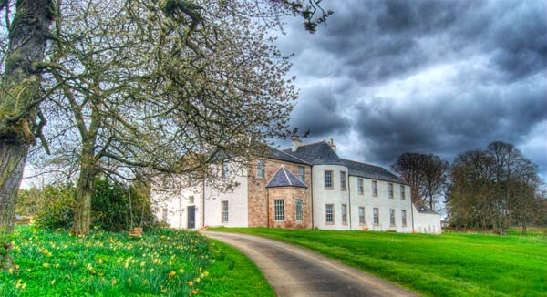 Logie country house with swimming pool in scotland - Scotland holiday homes with swimming pool ...