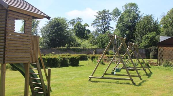 walled garden childrens play equipment