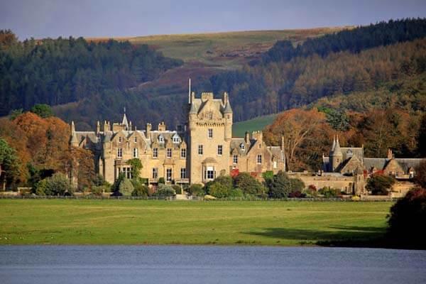 Self Catering Lochinch Castle Stranraer Galloway Scotland