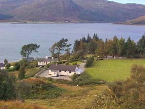 holiday cottage in the highlands