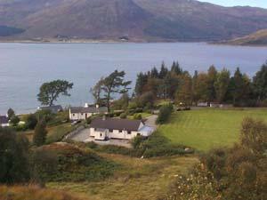 Luxury holiday cottage in Glenelg, west coast Scotland ...