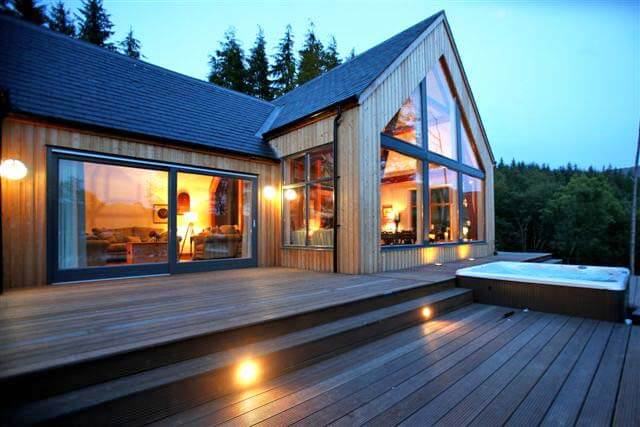 Knoydart house remote self catering on west coast of for Luxury cottage homes
