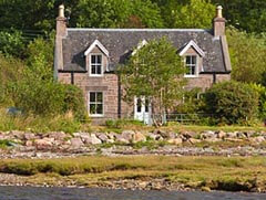 Gracie's Cottage, Loch Kishorn, Wester Ross, Highlands