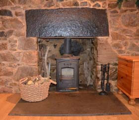 efficient wood burning stove