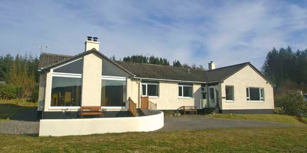 Plockton selfcatering for 8 people
