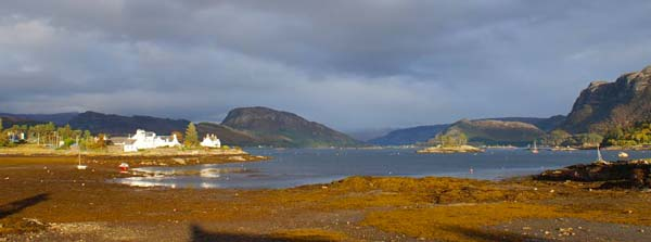 plockton holiday with sea view