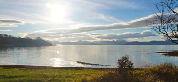 view to Skye and Raasay