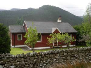 Holiday cottage in highlands