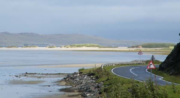 Scottish Island Road