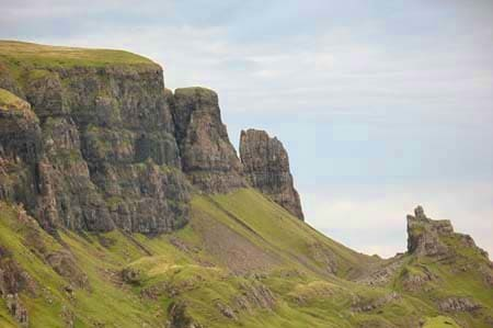 north east skye - mountain