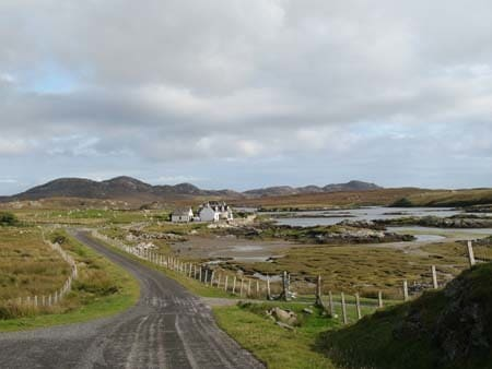 North Uist houses