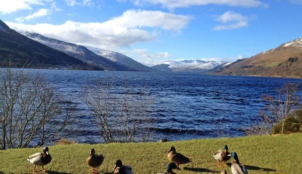Loch Earn at St Fillans
