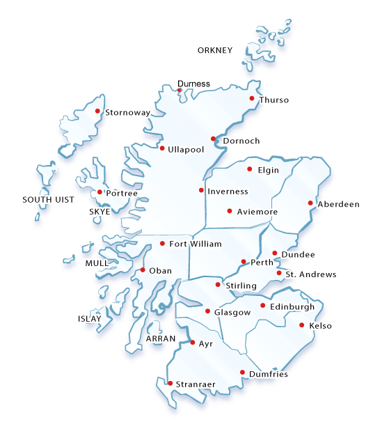 Self-catering places to stay in Scotland