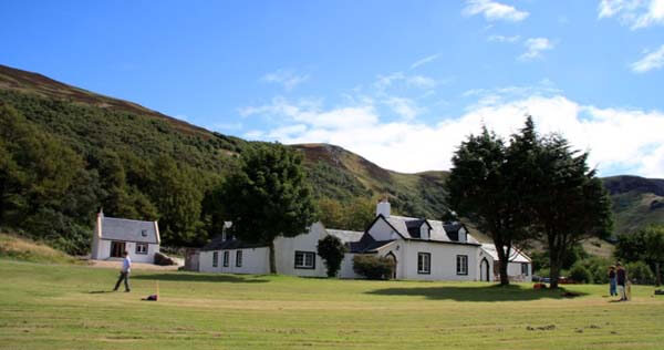 Isle of Arran with cooks accommodation