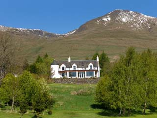 Large Perthshire holiday house