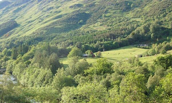 glenlyon holiday cottage