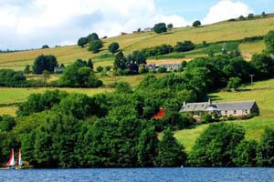 self-catering Loch Tummel